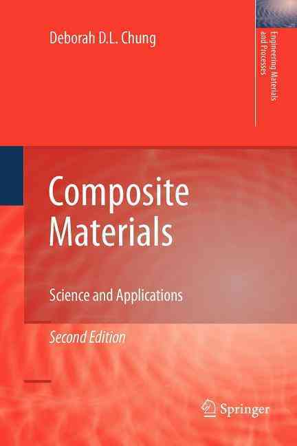 Composite Materials By Chung, Deborah D. L.